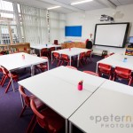 unoccupied infant school classroom