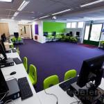 unoccupied computer room Infant School