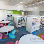 school library of Barncroft School havant interior