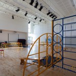school hall gym at Barncroft School havant interior