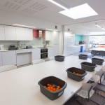 domestic science classroom at Barncroft School havant interior