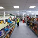 sales counter in Travis Perkins Builders Merchants shop