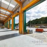 vehicle access roller doors in builders merchant warehouse