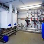 Small boiler room to Isle of Wight Studio School