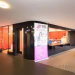 School reception area at Isle of Wight Studio School