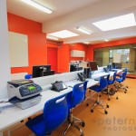 Teachers work room at Isle of Wight Studio School