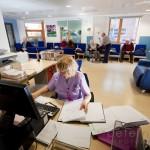 Reception at AMU Acute Medical Unit, Chichester Hospital