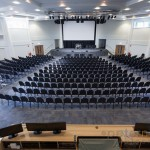 Kings Community Church modern church to hode 1200 people with tiered seating