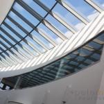 Kings Community Church modern church interior glass atrium