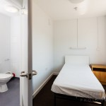 Single bedroom in Sir John Moore Barracks Folkestone England.