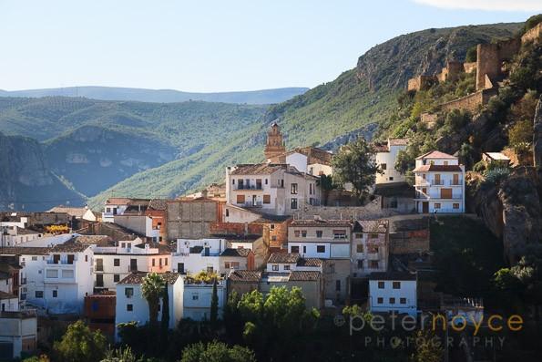 Mountain village of Chulilla in valencia spain