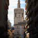 The Miguelete Bell Tower of Valencia Cathedral Spain