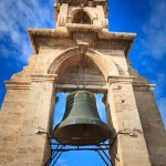 The Miguelete Bell Tower above Valencia Cathedral Spain