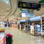 Wine and spirits duty free shops at Valencia Airport